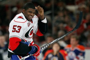 PK Subban Jeff Skinner's Sweater