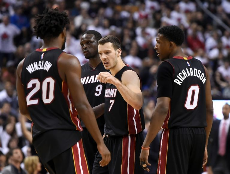 Josh-richardson-goran-dragic-luol-deng-justise-winslow-nba-playoffs-miami-heat-toronto-raptors-768x581