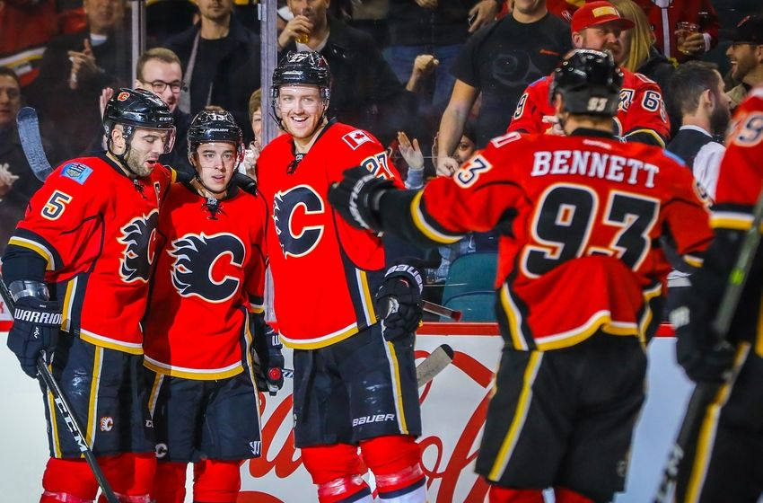 Calgary Flames Go Duck Hunting  Gaudreau Doesn t Miss A Beat  904141c3c