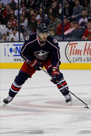 Nick Foligno (71) Mandatory Credit: Russell LaBounty-USA TODAY Sports
