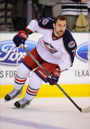 Nick Foligno (71) Mandatory Credit: Jerome Miron-USA TODAY Sports