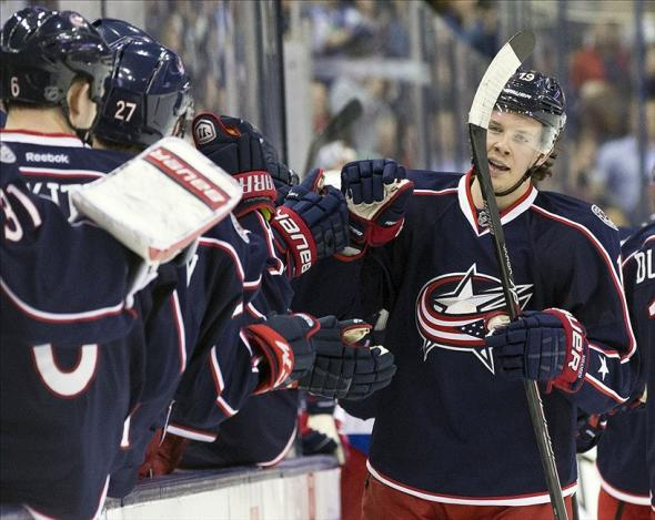 Ryan Johansen represents the Jackets' identity as a young-gun team. Credit: Greg Bartram-USA TODAY Sports