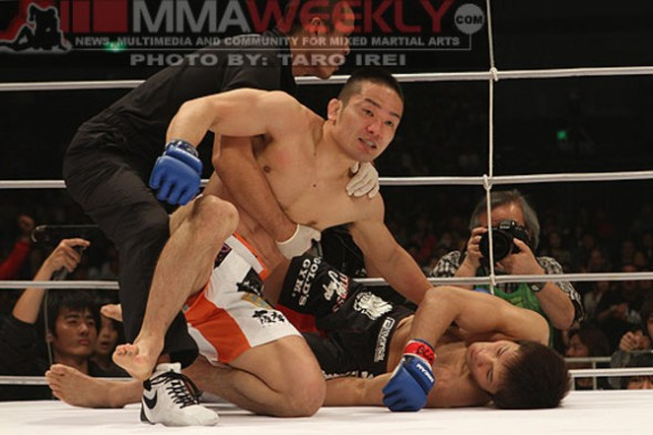 Photo Credit: Taro Irei - MMA Weekly