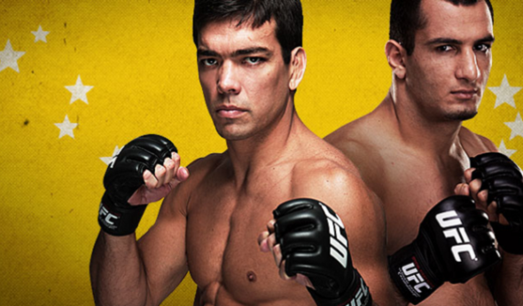 Former UFC Light Heavyweight Champion Lyoto Machida (left) takes on former Strikeforce Light Heavyweight Champion Gegard Mousasi (right) in the main event. Credit: ufc.com