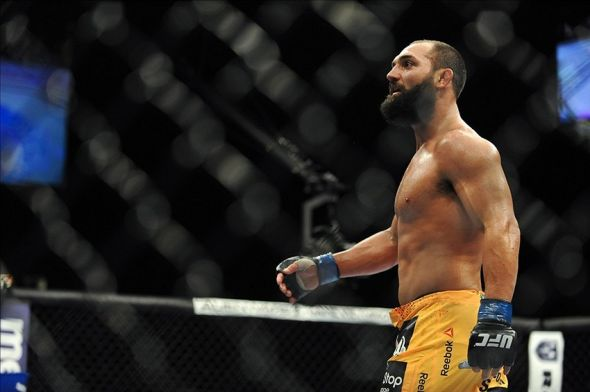 Johny Hendricks will receive a second consecutive title shot at UFC 171. Credit: Stephen R. Sylvanie-USA TODAY Sports
