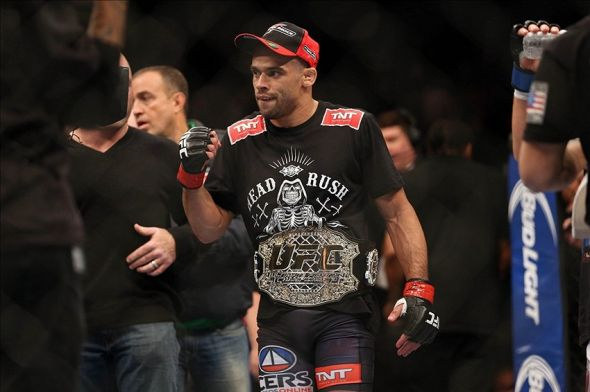 Renan Barao was crowned the undisputed champion earlier this year. Credit: Joe Camporeale-USA TODAY Sports