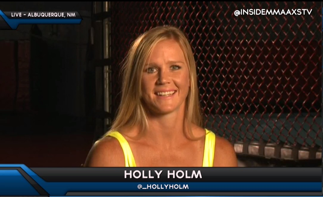 Holly Holm would 'look into' fight with Ronda Rousey