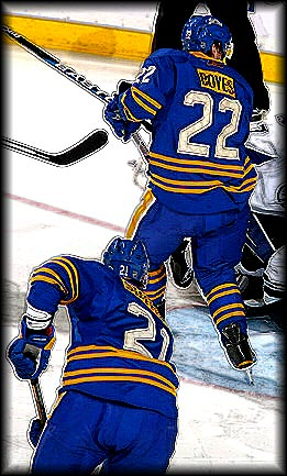 Brad Boyes and Drew Stafford
