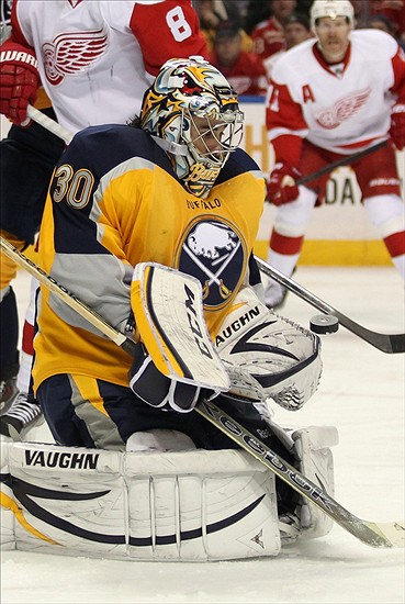 Ryan Miller (30) Mandatory Credit: Timothy T. Ludwig-USA TODAY Sports