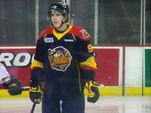 Connor McDavid with the OHL's Erie Otters. (Photo: Melissa Kania)