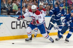 Stanley Cup Round 1 Opponents Montreal Canadiens and Tampa Bay Lightning