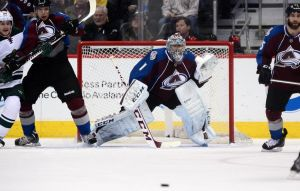 Stanley Cup Playoffs - Colorado Avalanche Goalie Semyon Varlamov
