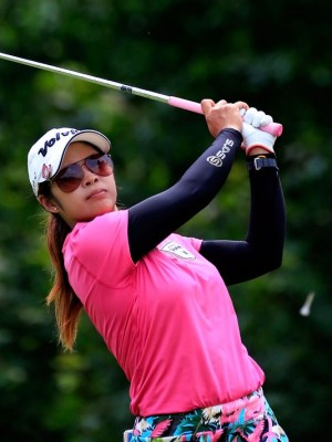Pornanong Phatlum wins 2013 Dubai Ladies Masters. Photo: Sam Greenwood, Getty Images.