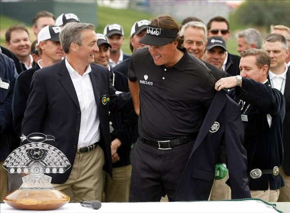 Phil Mickelson won the 2013 Phoenix Open