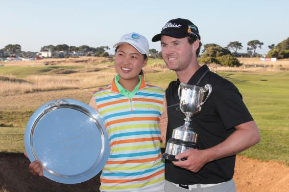 Aussie Amateur Minjee Lee wins ALPG Victorian Open. Used courtesy www.alpg.com.au
