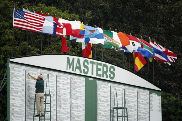 the masters  saturday tee times