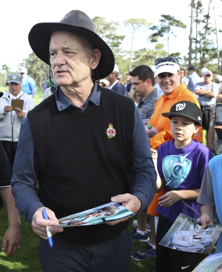 bill murray in trouble with police at pebble beach