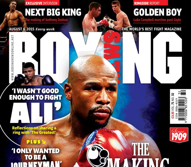 TCS Featured In Boxing News Magazine
