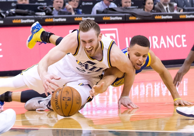 Utah Jazz Gordon Hayward Stephen Curry