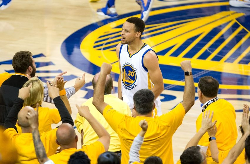 Stephen Curry Golden State Warriors Western Conference Finals NBA Playoffs