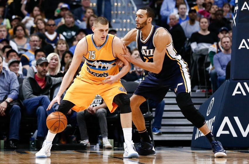 Nikola Jokic Denver Nuggets Rudy Gobert Utah Jazz