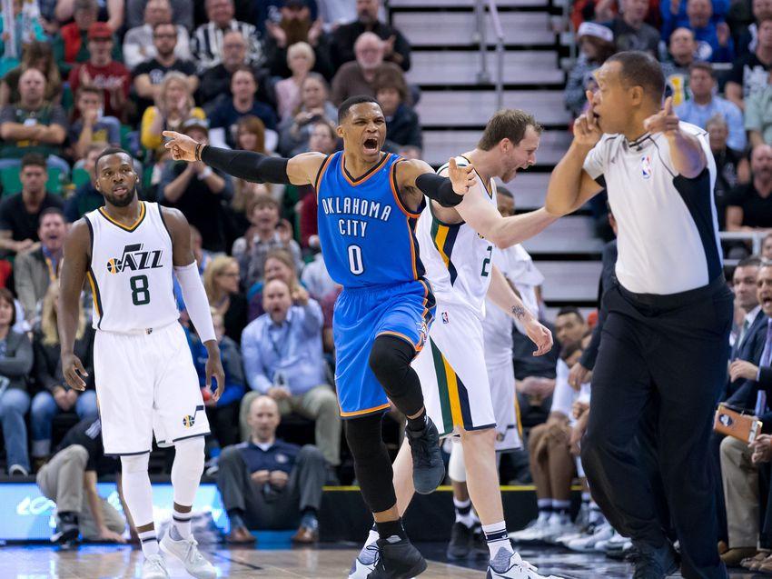 Utah Jazz: Russell Westbrook, OKC Stop Win Streak at Six