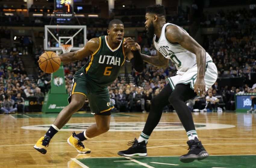 Joe Johnson Utah Jazz Amir Johnson Boston Celtics