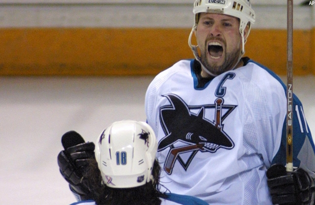 One of the greatest players in san jose sharks franchise history