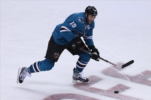 Joe Thornton Stickhandling