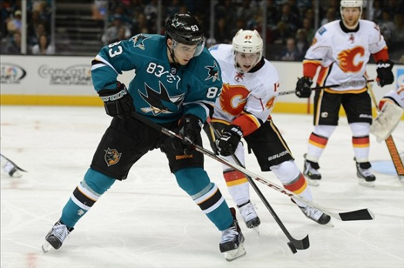 Calgary Flames at San Jose Sharks