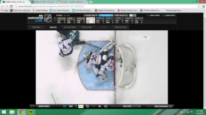 The Goal That Wasn't in Overtime. Mandatory Credit: NHL Gamecenter