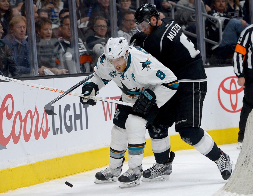 Jake-muzzin-joe-pavelski-nhl-stanley-cup-playoffs-san-jose-sharks-los-angeles-kings