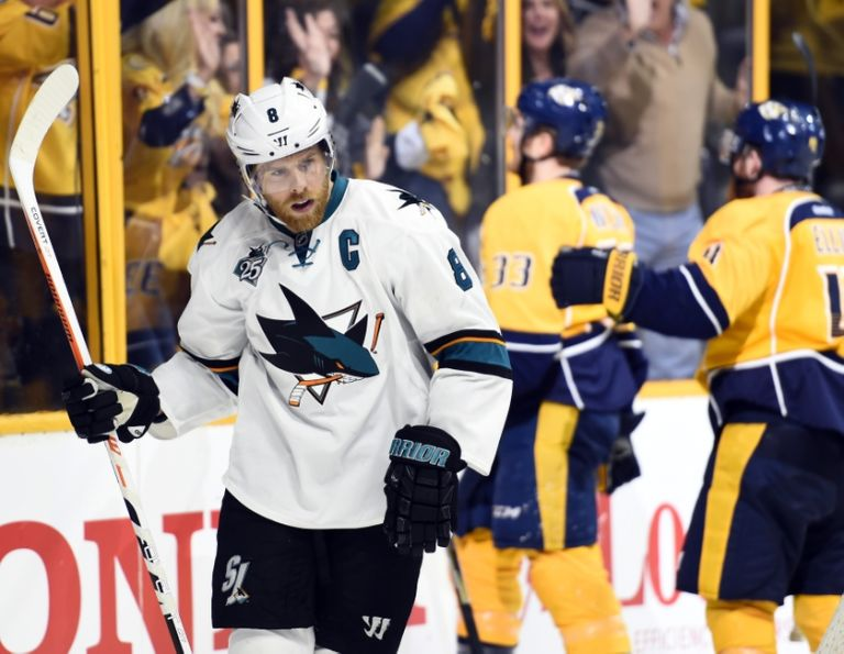 Joe-pavelski-colin-wilson-nhl-stanley-cup-playoffs-san-jose-sharks-nashville-predators-768x595