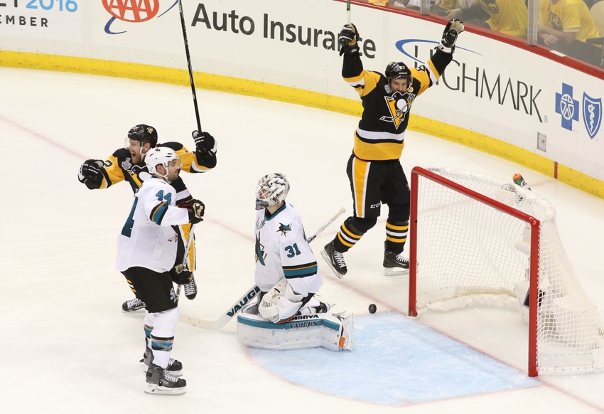 Patric-hornqvist-conor-sheary-martin-jones-sidney-crosby-nhl-stanley-cup-final-san-jose-sharks-pittsburgh-penguins