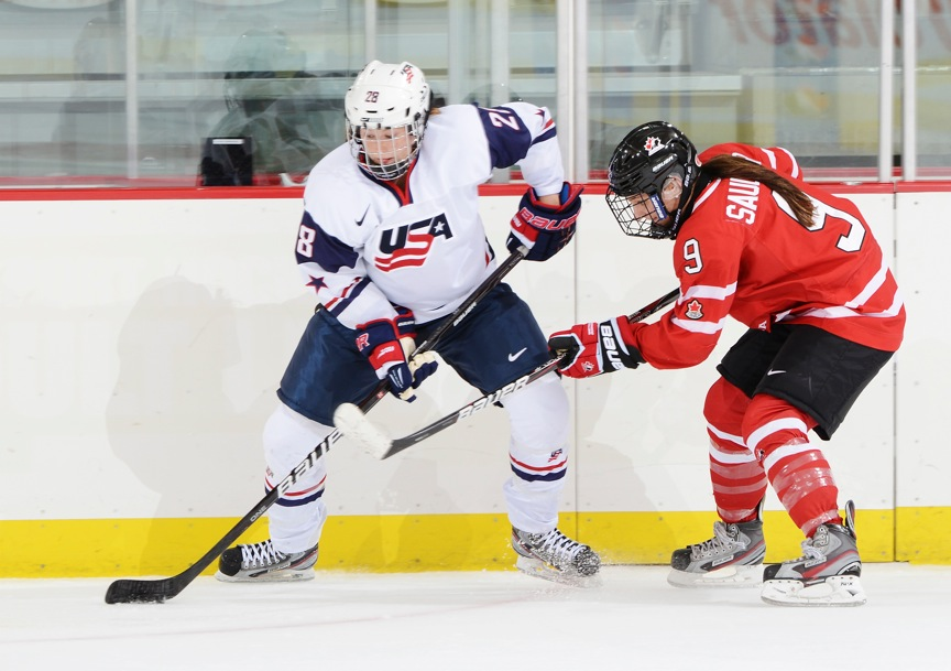 Lyndsey Fry Of Chandler On The USA Women's Hockey National Team