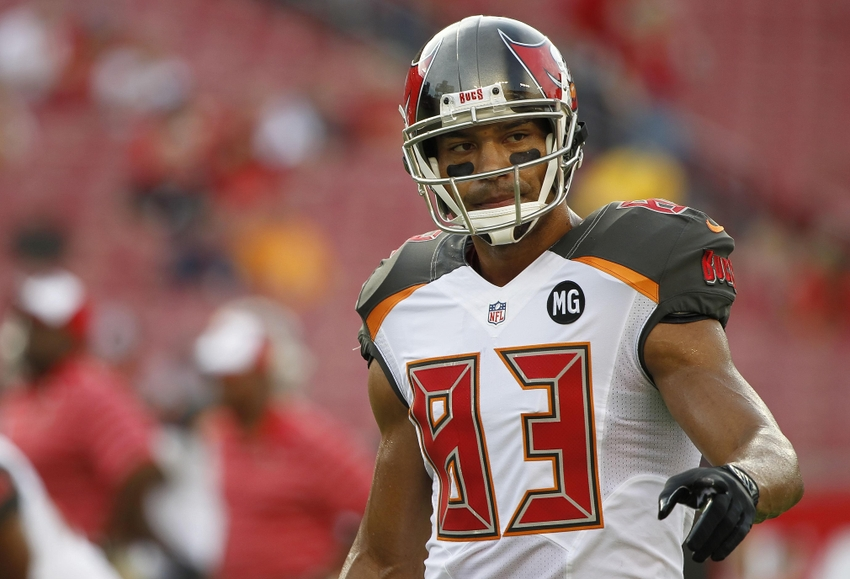 Aug 16, 2014; Tampa, FL, USA; Tampa Bay Buccaneers wide receiver ...