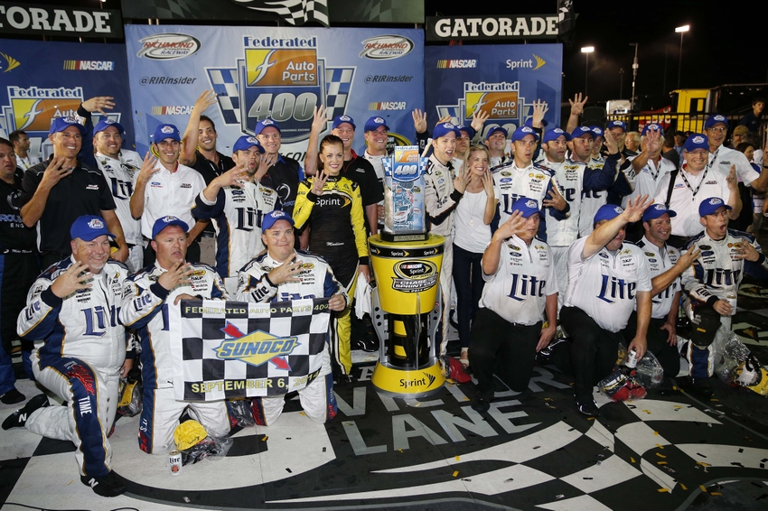 Federated auto parts 400 at richmond fantasy nascar preview page 2