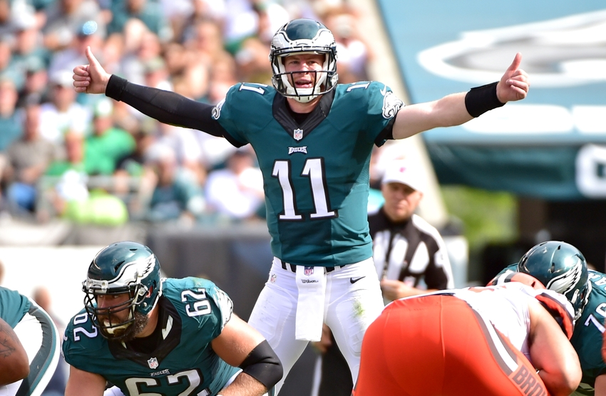 Carson Wentz Looks Good, So Far | FOX Sports