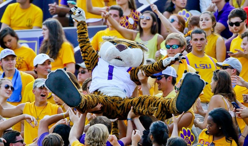 division 1 football mascots college football scores predictions odds