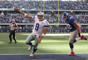 Romo TD vs Giants