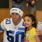 Sean Lee poses for another picture with a patient — Jordan Ross