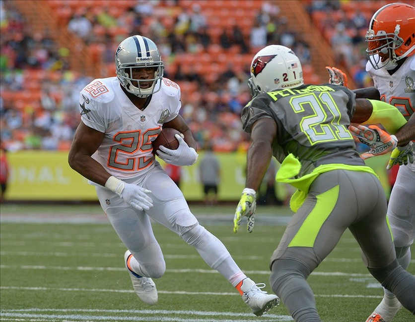 Dallas Cowboys DeMarco Murray Seals Win in 2014 Pro Bowl