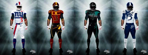 An unofficial redesigned of NFC East uniforms by Mr. Design Junkie. All Rights Reserved Mr. Design Junkie