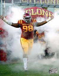 Former Iowa State Defensive Tackle #98 Jerrod Black