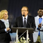 May 11, 2012; San Diego, CA, USA; San Diego Chargers Dean Spanos speaks during a celebration of life service to remember Junior Seau at Qualcomm Stadium. Mandatory Credit: Christopher Hanewinckel-US PRESSWIRE