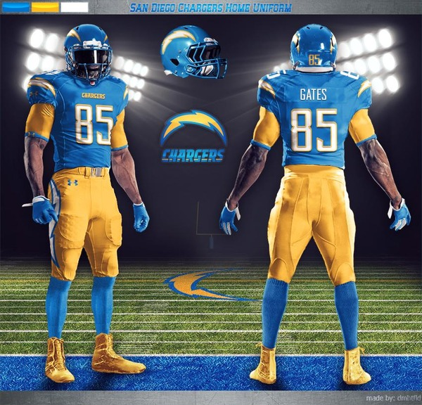 San Diego Chargers Football: New San Diego Chargers Uniforms?