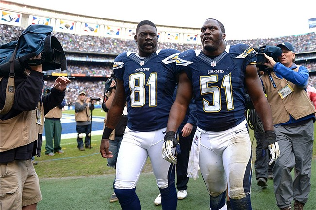 San Diego Chargers Players San Diego Chargers Have