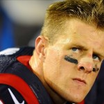 Sep 9, 2013; San Diego, CA, USA; Houston Texans defensive end J.J. Watt (99) during the second half against the San Diego Chargers at Qualcomm Stadium. Mandatory Credit: Christopher Hanewinckel-USA TODAY Sports