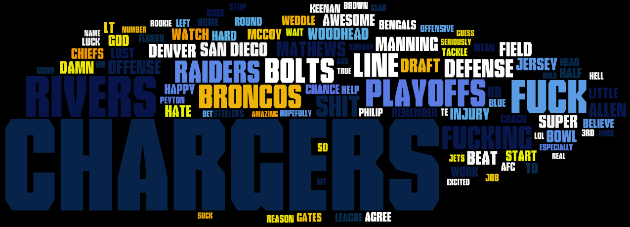 Top 100 Words of the 2013 Season