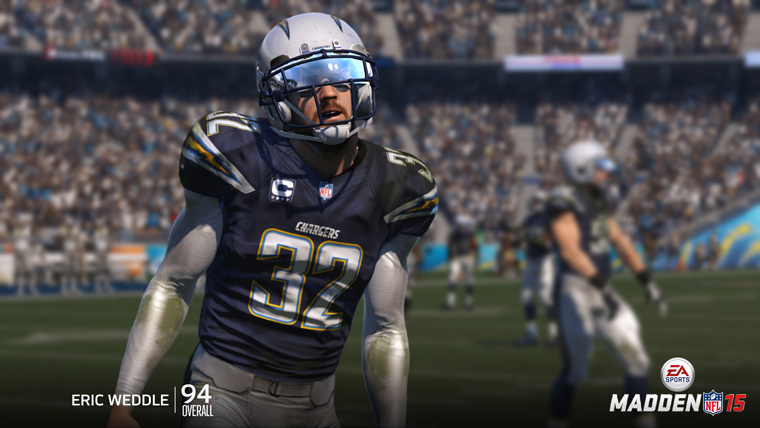 Eric Weddle Tied For 3rd Best Fs In Madden 15